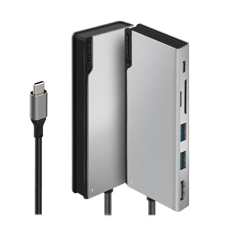 Alogic Ultra USB-C Dock UNI GEN 2 with HDMI 4K@60HZ 2 X USB 3.0 USB-C (DATA/PD 100W) SD and micro SD card reader, , hi-res