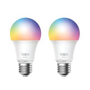 TP-Link Tapo L530E Smart Wifi Multicolour Bulb E27 2Pack
