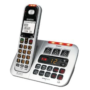 Uniden SSE45 Sight and Sound Enhanced Cordless Phone System