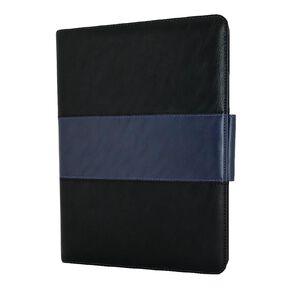 "NVS Folio Stand For iPAD 10.2"" - Black/Blue"