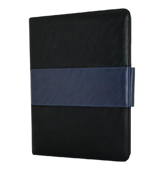 "NVS Folio Stand For iPAD 10.2"" - Black/Blue"