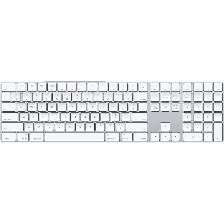 Apple Wireless Magic Keyboard with Numeric Keypad, , hi-res
