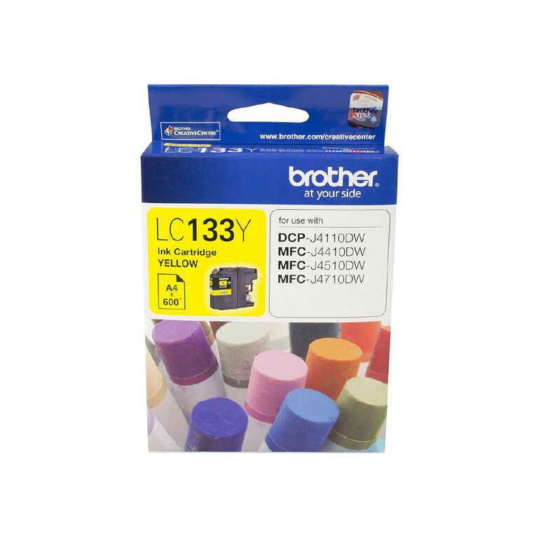Brother LC133Y Ink - Yellow, , hi-res