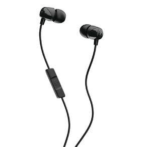 Skullcandy Jib In Ear Heaphones with Mic - Black/Black/Black