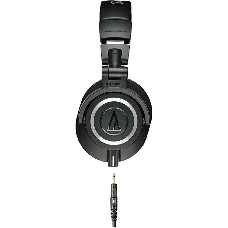 Audio Technica M50X Studio Headphones - Black, , hi-res