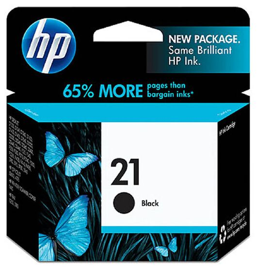 HP Black Ink Cartridge No.21 (C9351AA)