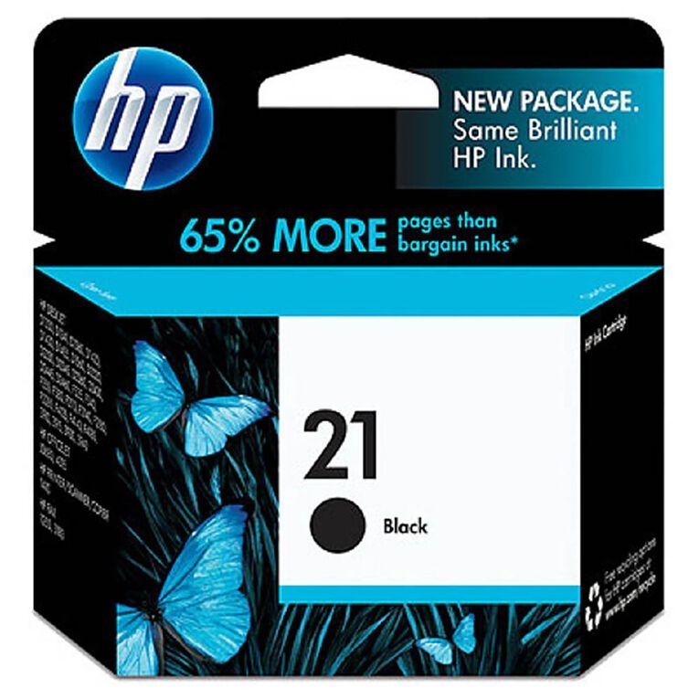 HP NO.21 Ink - Black, , hi-res