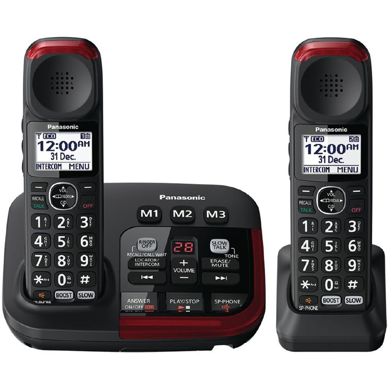 Panasonic KX-TGM422AZB Cordless Phone Twin Pack, , hi-res