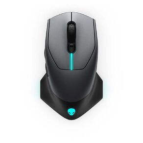 Dell Alienware 610M Wired or Wireless Gaming Mouse - Dark Side Of The Moon