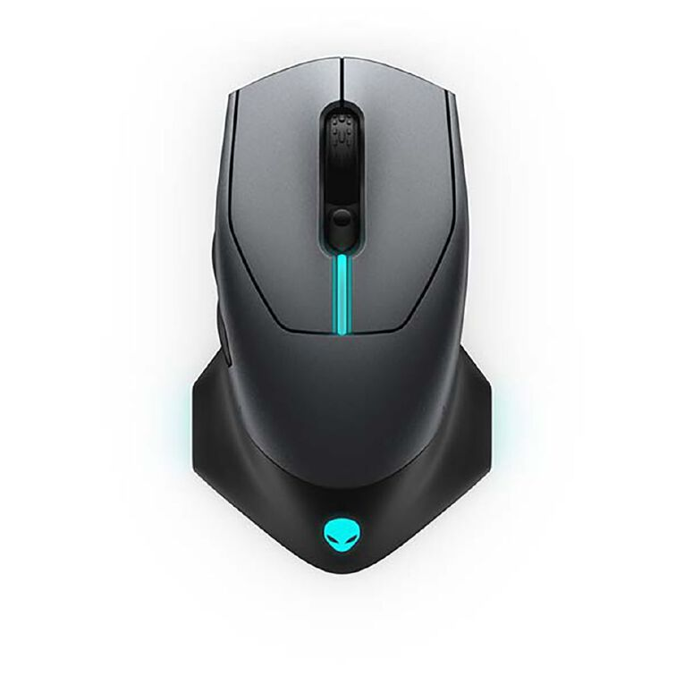 Dell Alienware 610M Wired or Wireless Gaming Mouse - Dark Side Of The Moon, , hi-res
