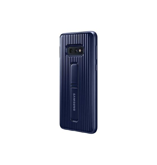 Samsung Protective Standing Case for Samsung Galaxy S10E - Black/Blue Blue