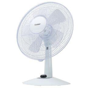 Goldair Whisper Quiet 30cm Desk Fan
