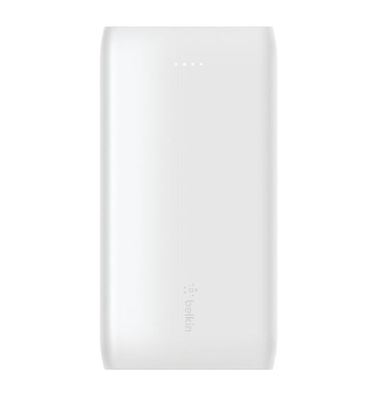 Belkin BoostUp Charge USB-C PD Power Bank 10K+USB-C Cable - White