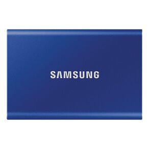 Samsung T7 Portable SSD - 500GB Indigo Blue