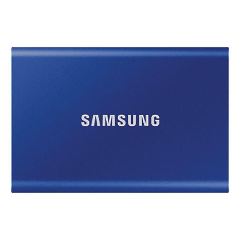 Samsung T7 Portable SSD - 500GB Indigo Blue, , hi-res