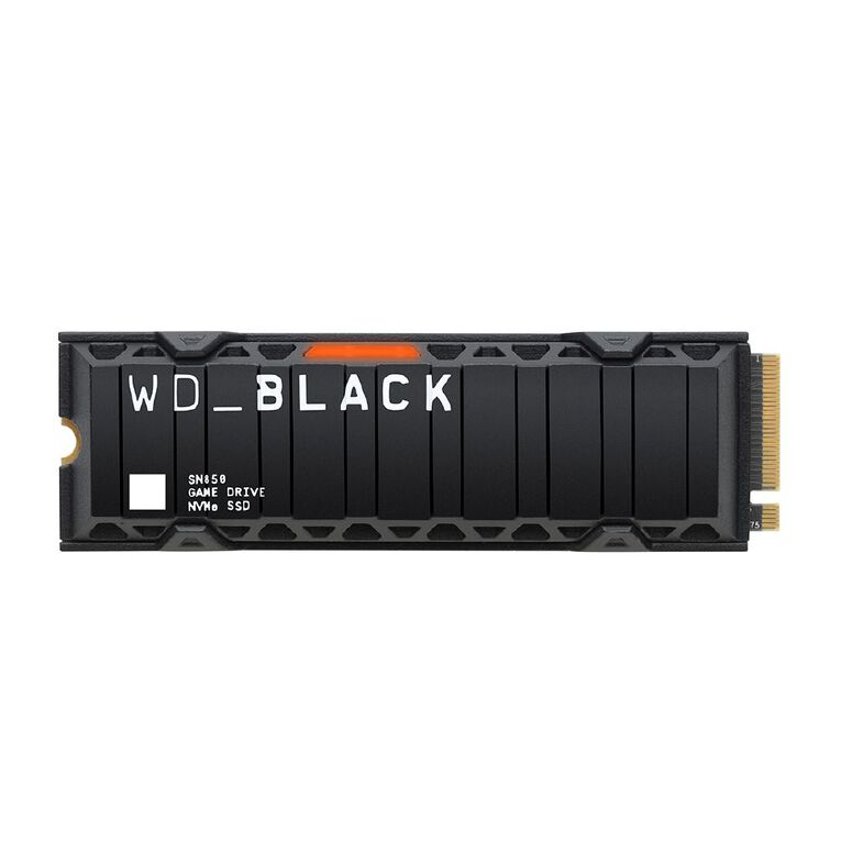 WD Black SN850 NVME 1TB SSD with Heatsink, , hi-res