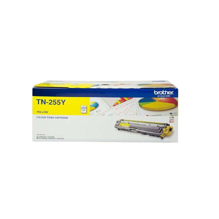 Brother TN255Y Toner - Yellow, , hi-res