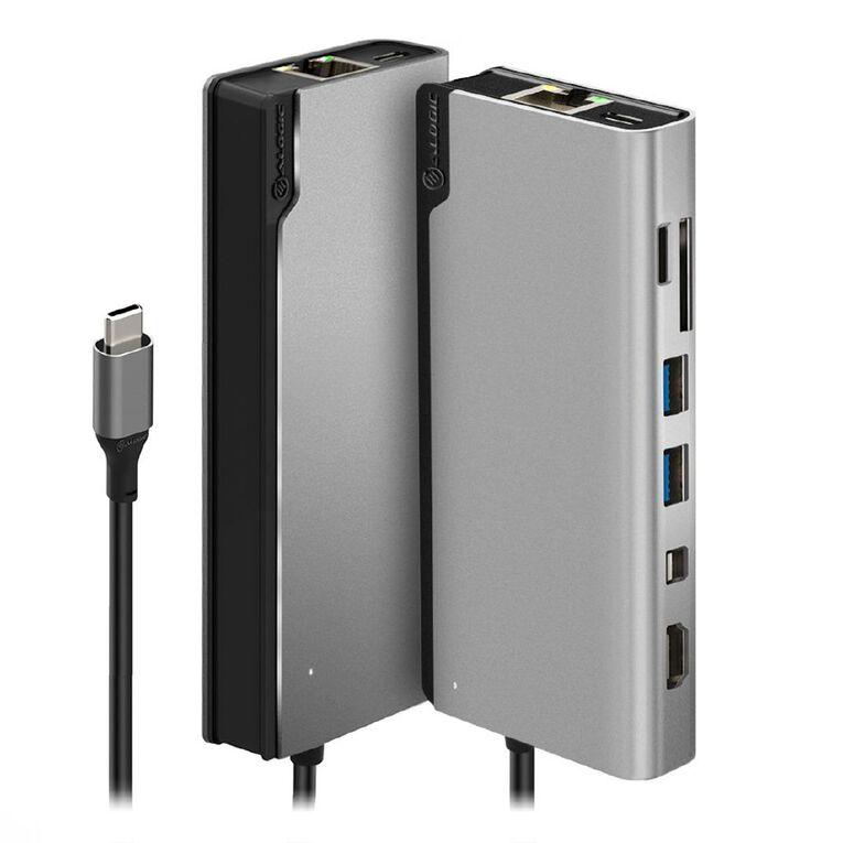 Alogic Ultra USB-C Dock Plus GEN 2 with HDMI 4K@60HZ Mini Displayport Gigabit Ethernet USB-A (USB 3.1) USB-C (UP TO 100W PD), , hi-res