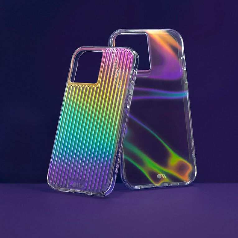 Casemate Tough Groove Micropel iPhone 12 Pro Max Iridescent, , hi-res