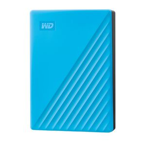 WD My Passport 4TB USB 3.0 External HDD - Blue