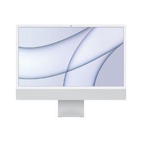 Apple iMac (4.5K Retina, 24-inch, 2021) 256GB, 7-Core GPU - Silver