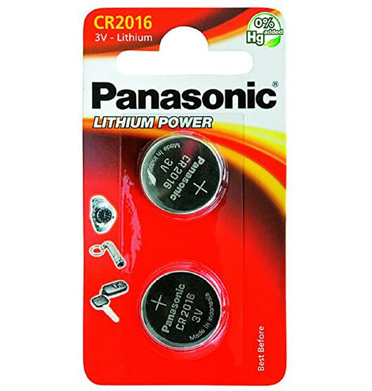 Panasonic 3V Lithium Battery 2 Pack
