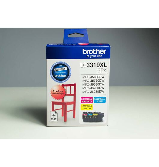 Brother LC3319XL3PK Ink Tri-Colour