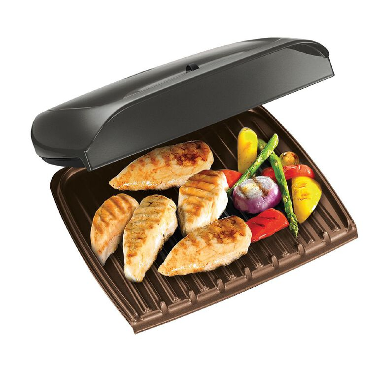 George Foreman Jumbo Grill With Temperature Control, , hi-res