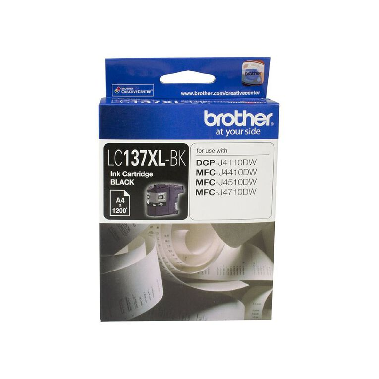 Brother LC137XLBK Ink - Black, , hi-res