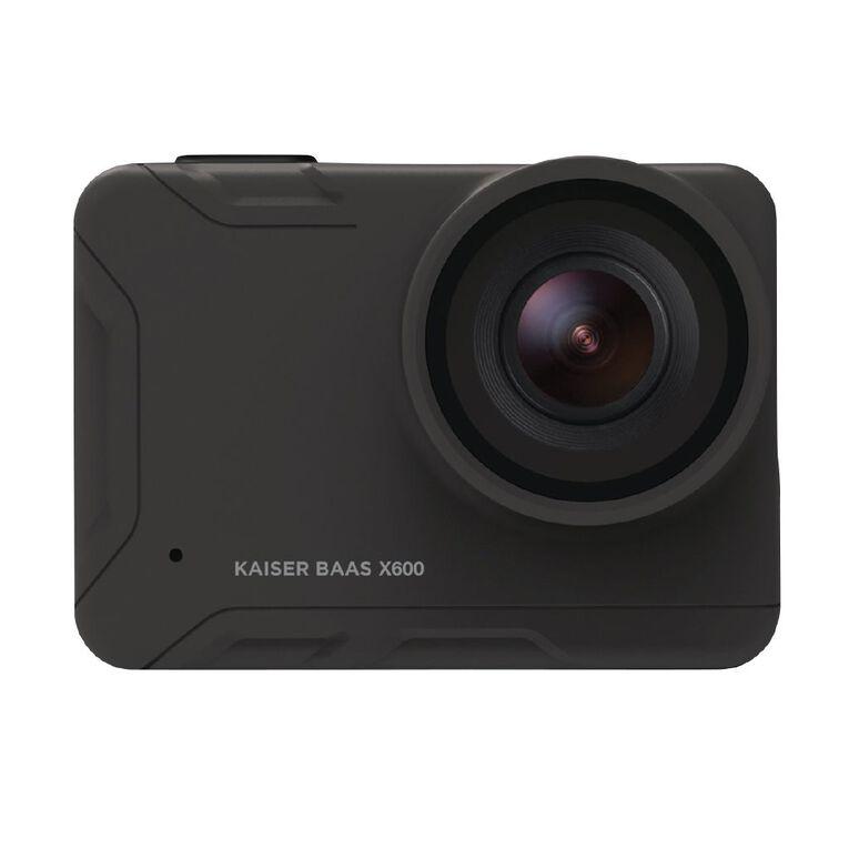 Kaiser Baas X600 4K Action Camera, , hi-res