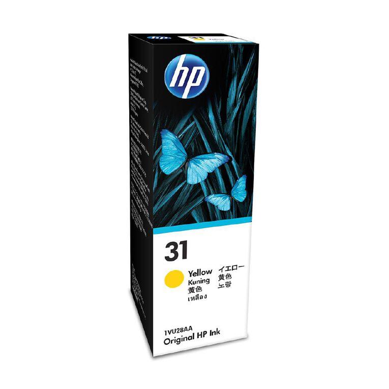 HP 31 Yellow Ink Bottle, , hi-res