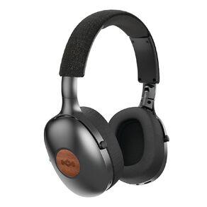 Marley Positive Vibration XL Over-Ear Wireless Headphones - Black