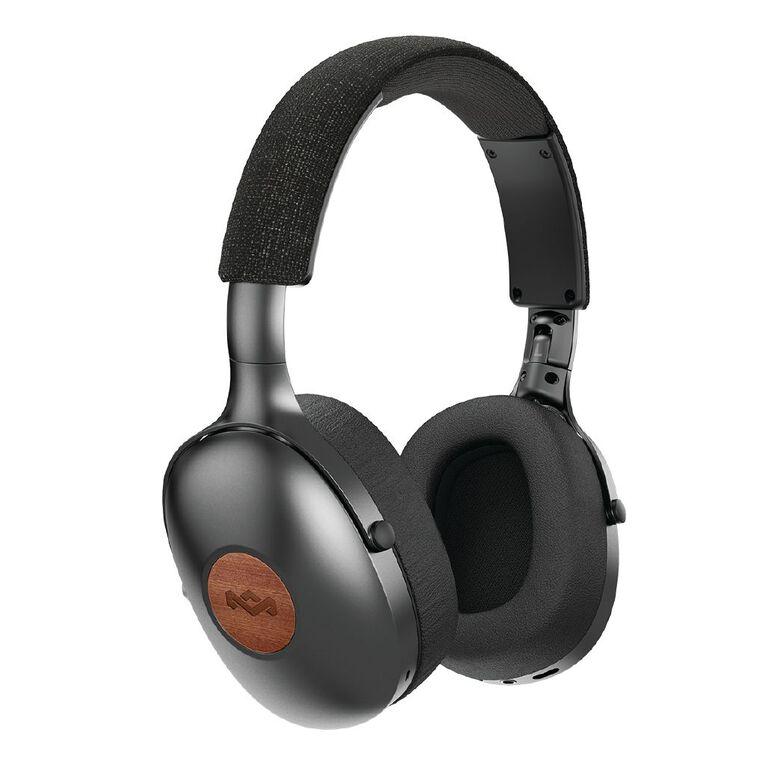 Marley Positive Vibration XL Over-Ear Wireless Headphones - Black, , hi-res