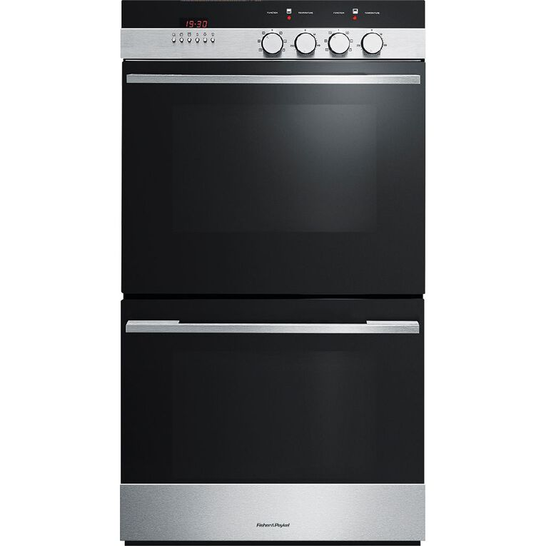 Fisher & Paykel 60cm Electric Duo Wall Oven, , hi-res