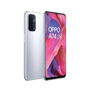 OPPO A74 5G - Space Silver
