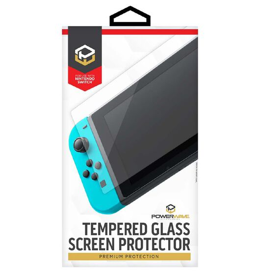 Powerwave Nintendo Switch Tempered Glass Screen Protector