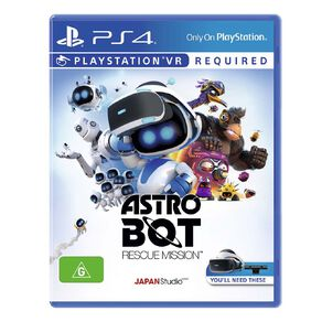 PlayStation 4 Astro Bot: Rescue Mission VR