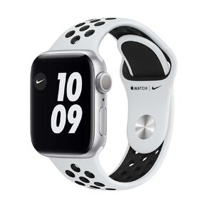 Apple Watch Series 6 Nike 40mm GPS Silver  Aluminium Case with Pure Platinum/Black  Nike Sport Band