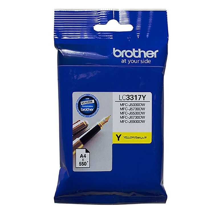 Brother LC3317Y Ink - Yellow, , hi-res