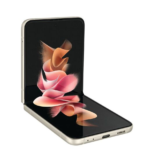 Image of Galaxy Z Flip3 256GB Cream