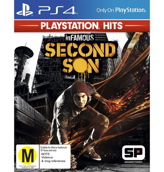 PlayStation 4 HITS Infamous Second Son