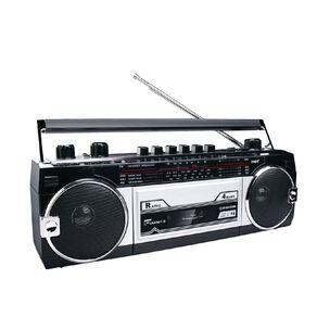 Endeavour Retro Boombox - Bluetooth/Cassette/AM/FM/SW