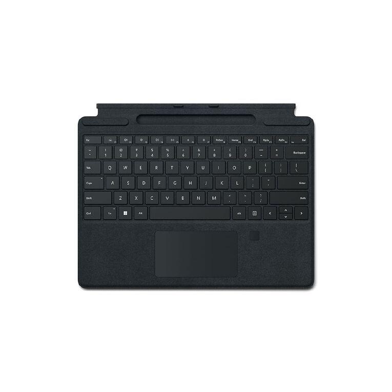 Microsoft Surface Pro Type Cover with Fingerprint Reader - Black, , hi-res