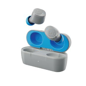 Skullcandy Jib True Wireless In Ear Headphones - Light Grey/Blue