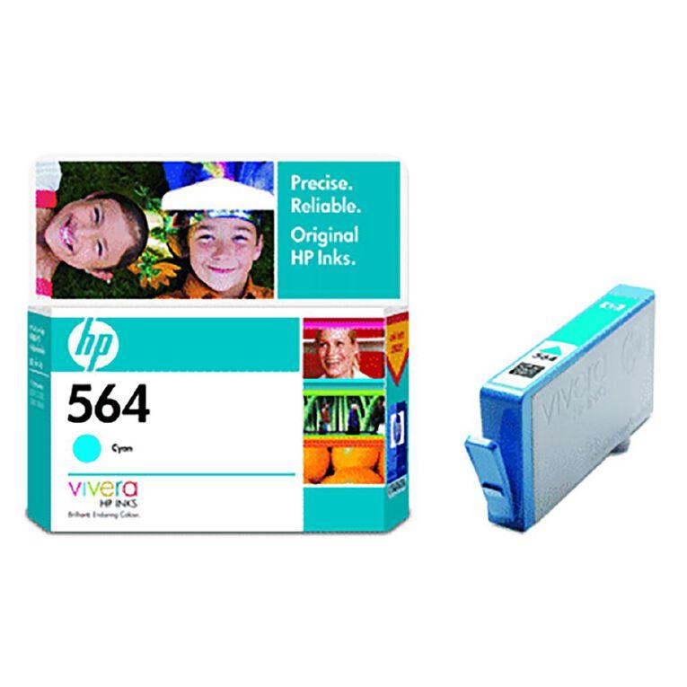 HP 564 Ink - Cyan, , hi-res