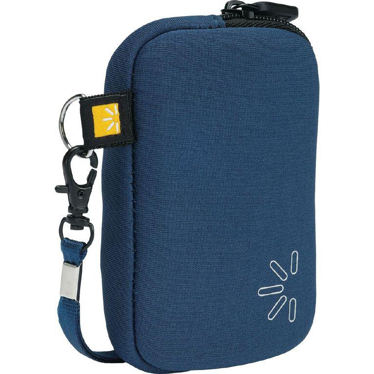 Case Logic Neoprene Compact Camera Case - Blue, , hi-res