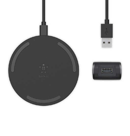 Belkin BoostUp 15W Wireless Charging Pad - Black