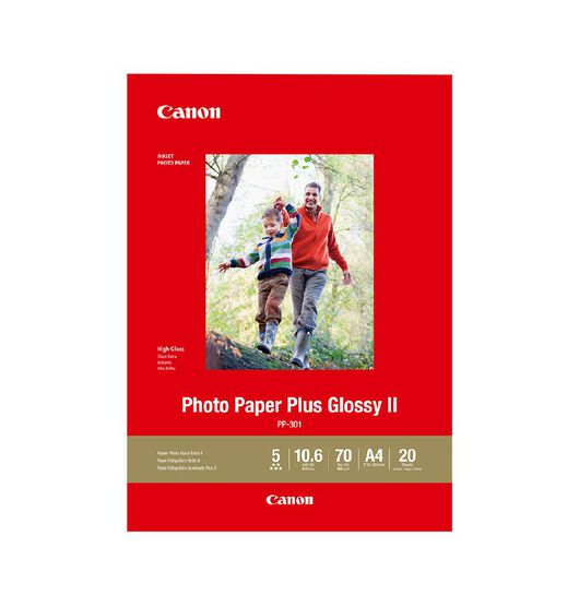 Canon Photo Paper Plus Glossy II A4 20 Pack