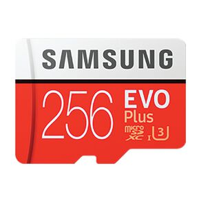 Samsung Evo Plus MicroSD Card 256GB w/Adaptor (2020)