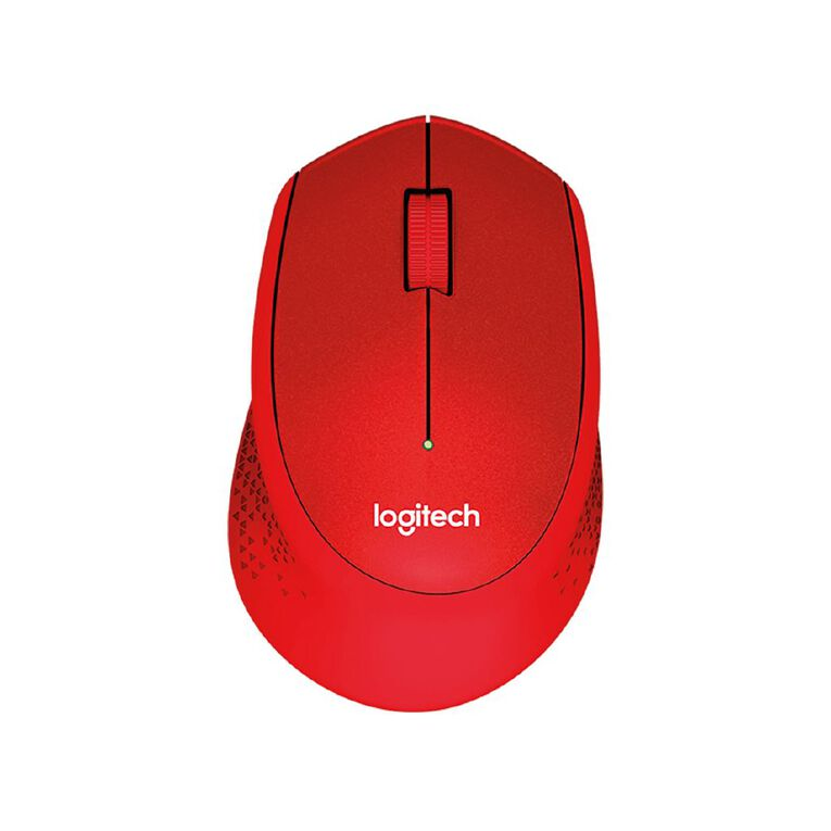 Logitech M331 Silent Wireless Mouse - Red, , hi-res